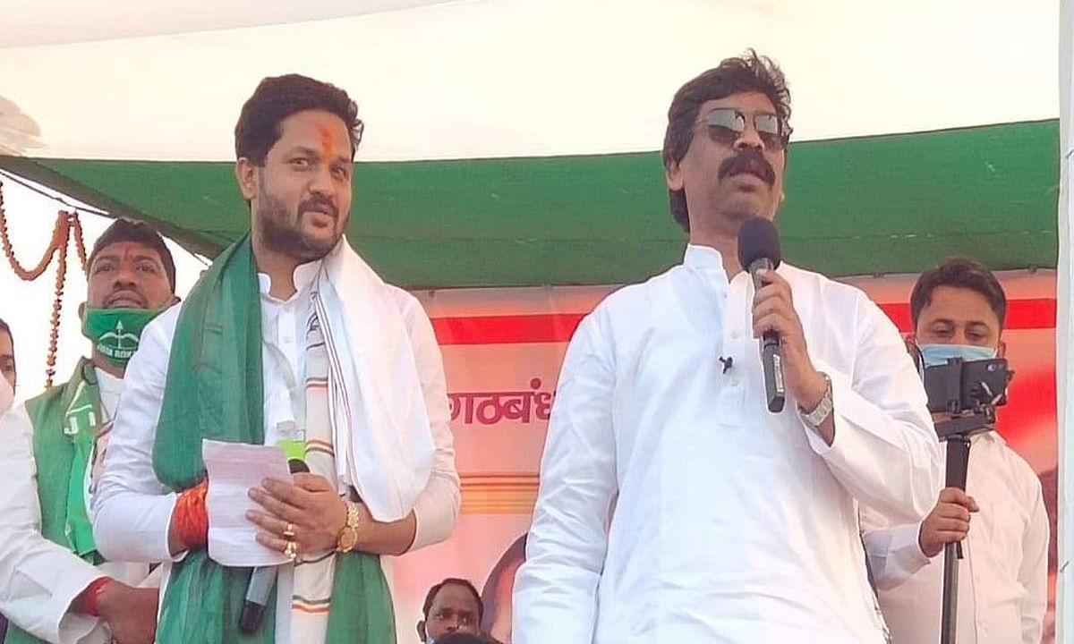 jharkhand by election : सीएनटी-एसपीटी कानून खत्म करना चाहती थी भाजपा की पूर्ववर्ती सरकार : सीएम हेमंत सोरेन