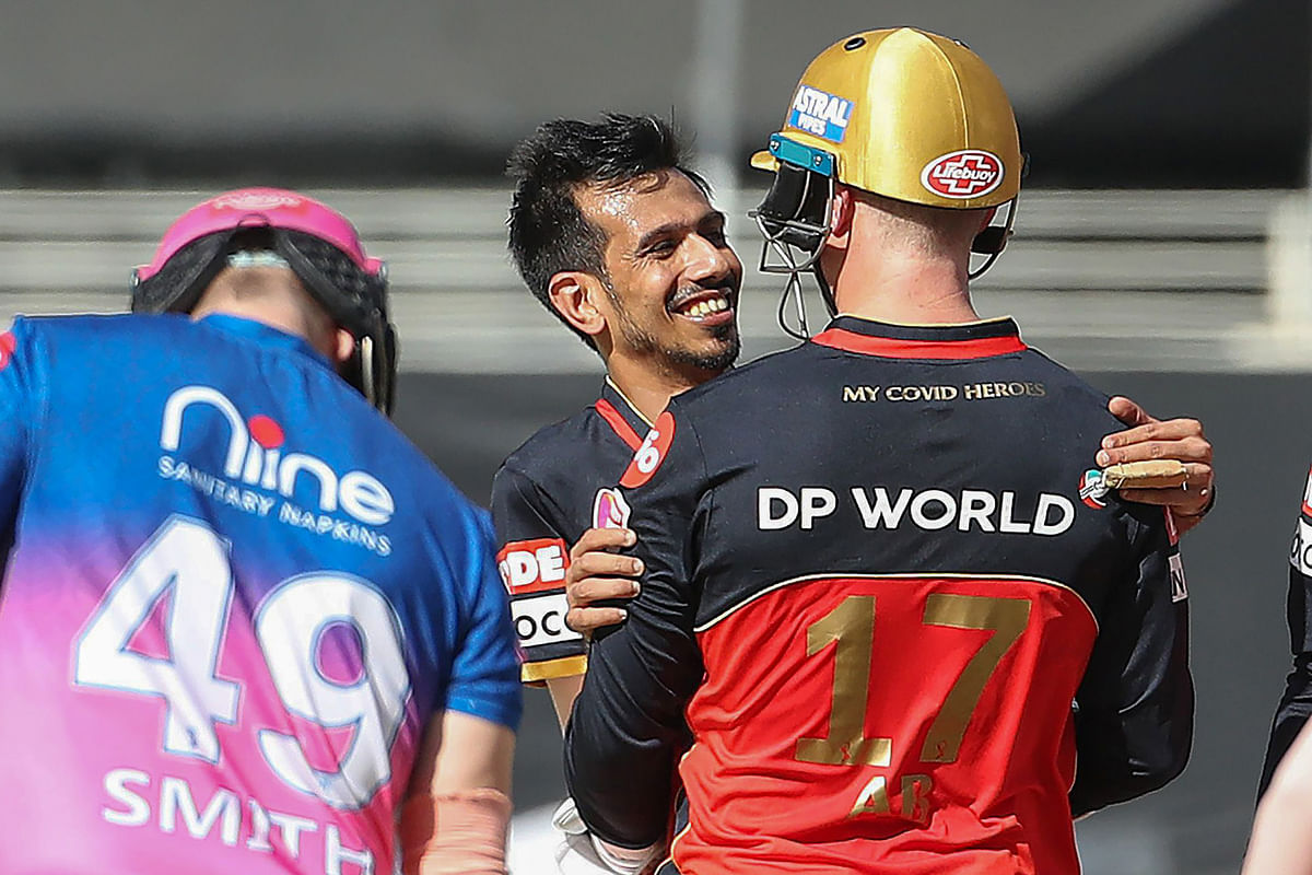 IPL 2020 : राजस्थान पर कहर बनकर टूटे डिविलियर्स, इस तरह 'बाजीगर' बना आरसीबी