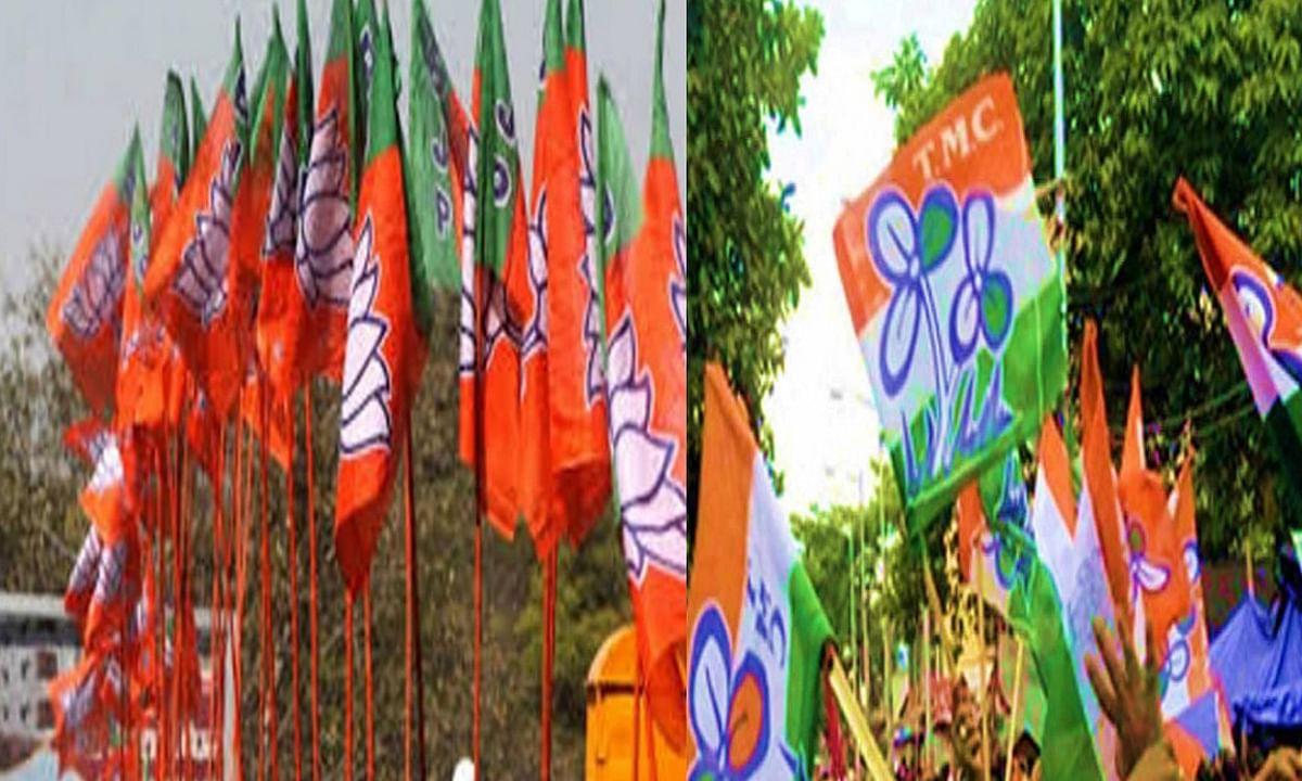 बंगाल चुनाव में जारी हिंसा के बीच बीजेपी पोलिंग एजेंट का अपहरण, टीएमसी पर आरोप