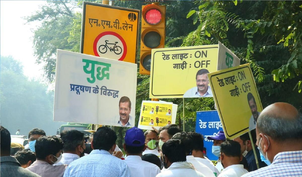 युद्ध प्रदूषण के विरुद्ध, दिल्ली में जोर- शोर से चल रहा है अभियान