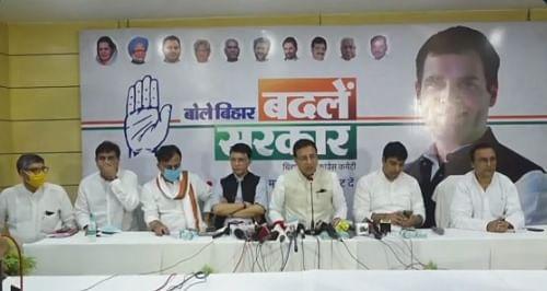 Bihar Chunav 2020 : कांग्रेस लेकर आयी अपराध के भयावह आंकड़े, कहा, नीतीश राज में अपराध का बीहड़ बन चुका है बिहार