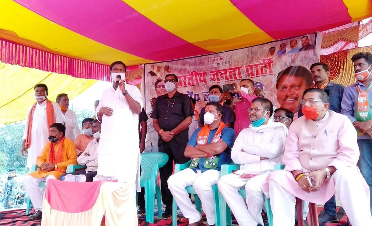 मुख्यमंत्री हेमंत सोरेन ने दुमका की जनता को बेइज्जत किया, बोले केंद्रीय मंत्री अर्जुन मुंडा