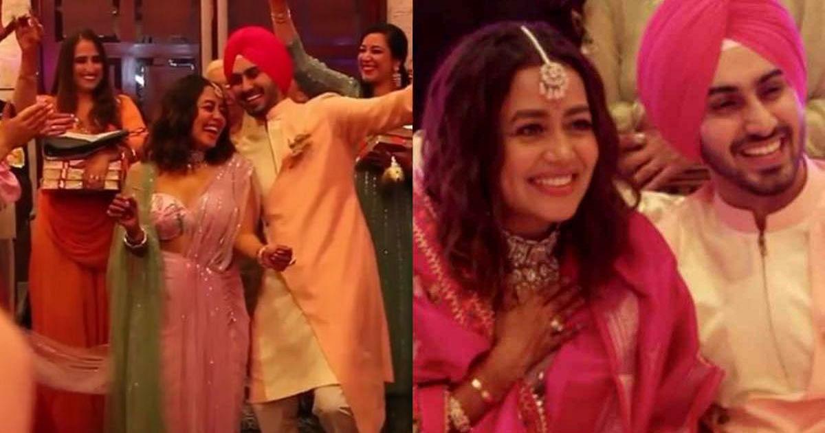 Neha Kakkar Wedding:  क्या सिंगर नेहा कक्कड़ का हो गया रोका, वायरल हो रही है Video