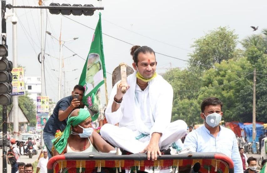बिहार चुनाव 2020 : जानिए यादव बाहुल हसनपुर सीट पर लालू के लाल 'तेज प्रताप' की जीत क्यों आसान नहीं!