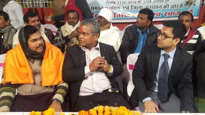 जनवरी 2018 में बिहार यात्रा के दौरान रामकलावन