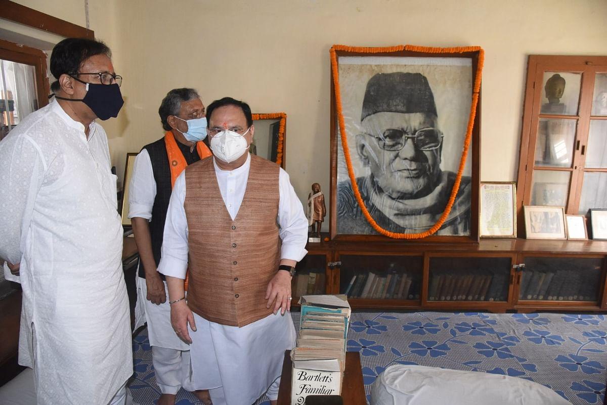 इस प्रकार बिहार की राजधानी पटना से जेपी नड्डा ने लोकनायकको नमन कर चुनाव प्रचार का आगाज किया.यहां भी उनके साथ सुशील कुमार मोदी और संजय जायसवाल मौजूद थे.