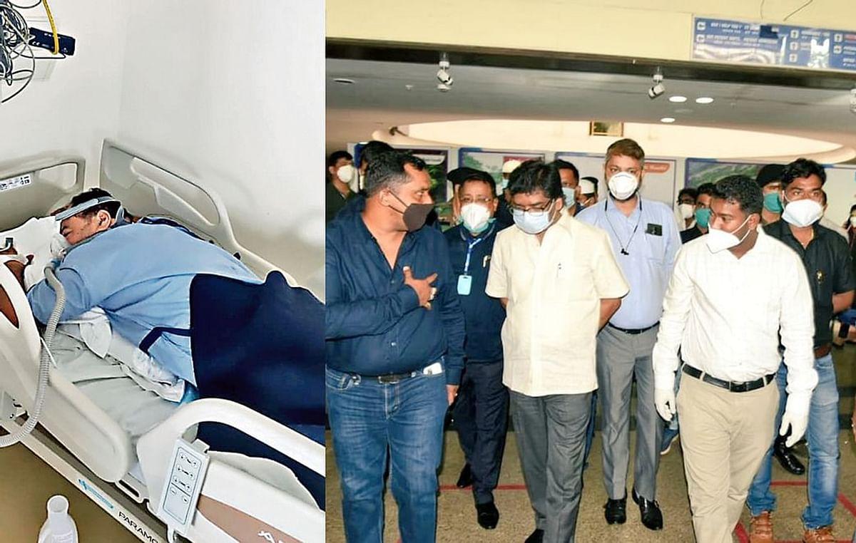 Jagarnath Mahto Latest News: झारखंड के शिक्षा मंत्री जगरनाथ महतो की हालत बिगड़ी, अब वेंटिलेटर पर, मुख्यमंत्री हेमंत सोरेन मेडिका पहुंचे
