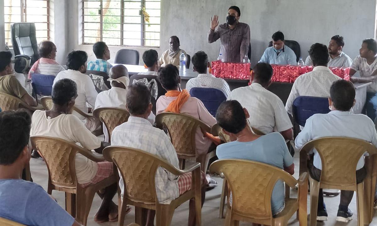 बडाबांकी में किसान चौपाल, कुणाल ने विपक्ष पर किसानों के बीच भ्रम फैलाने का लगाया आरोप