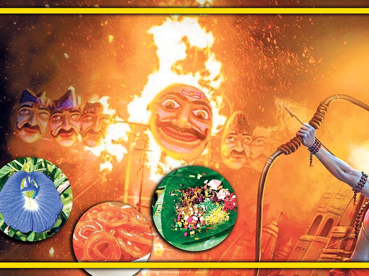 Dussehra अपराजिता फूल, पान, जलेबी और शस्त्र पूजा बिना अधूरी, जानें विजय दशमी पर इनका महत्व