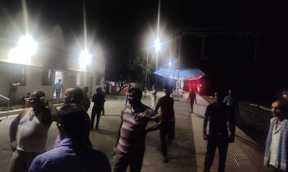 गोला के रेलवे साइडिंग में अपराधियों ने चलायी गोली, 2 सुरक्षा गार्ड घायल, रिम्स रेफर