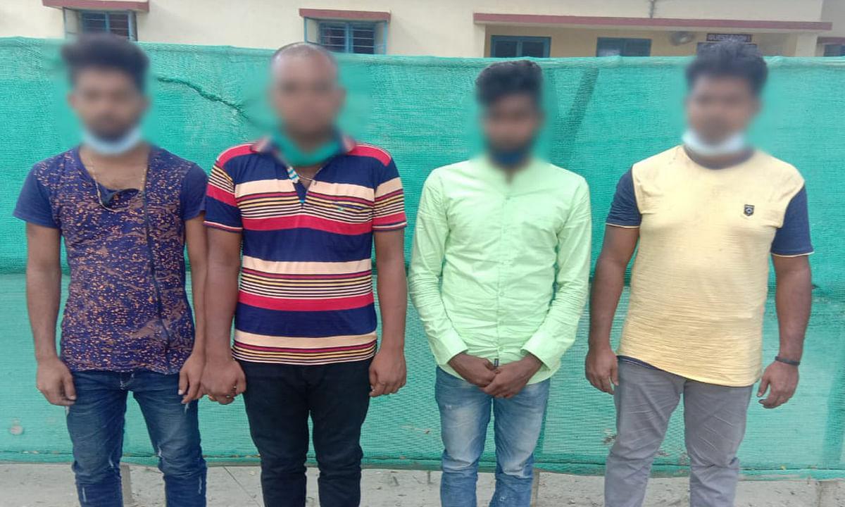 अवैध तरीके से भारत में प्रवेश करने की कोशिश करते 4 बांग्लादेशी गिरफ्तार, बीएसएफ की पूछताछ में सामने आये चौंकाने वाले तथ्य