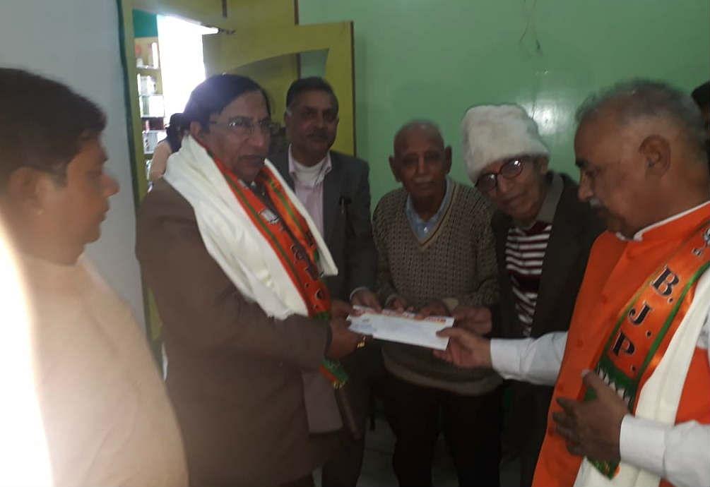 Rajyasabha chunav 2020: नरेश बंसल को बीजेपी ने बनाया उम्मीदवार, एक समय संघ के लिए छोड़ दी थी सरकारी नौकरी