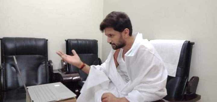 LJP में चाचा- भतीजे के बीच घमासान के बीच चिराग पासवान का ऑडियो वायरल,गरमाई राजनीति