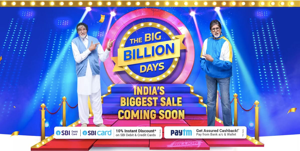 Flipkart पर आ रहा Big Billion Days सेल, स्मार्टफोन्स पर मिलेगा जबरदस्त डिस्काउंट