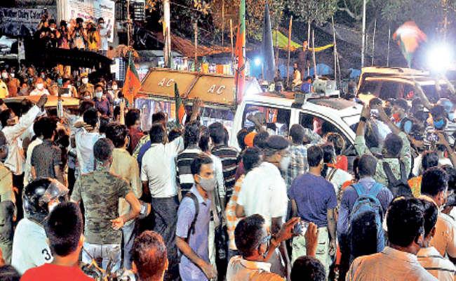West Bengal News : बंगाल में भाजपा नेता की हत्या के बाद मचा बवाल, जांच टीम के हाथ आया सीसीटीवी फुटेज
