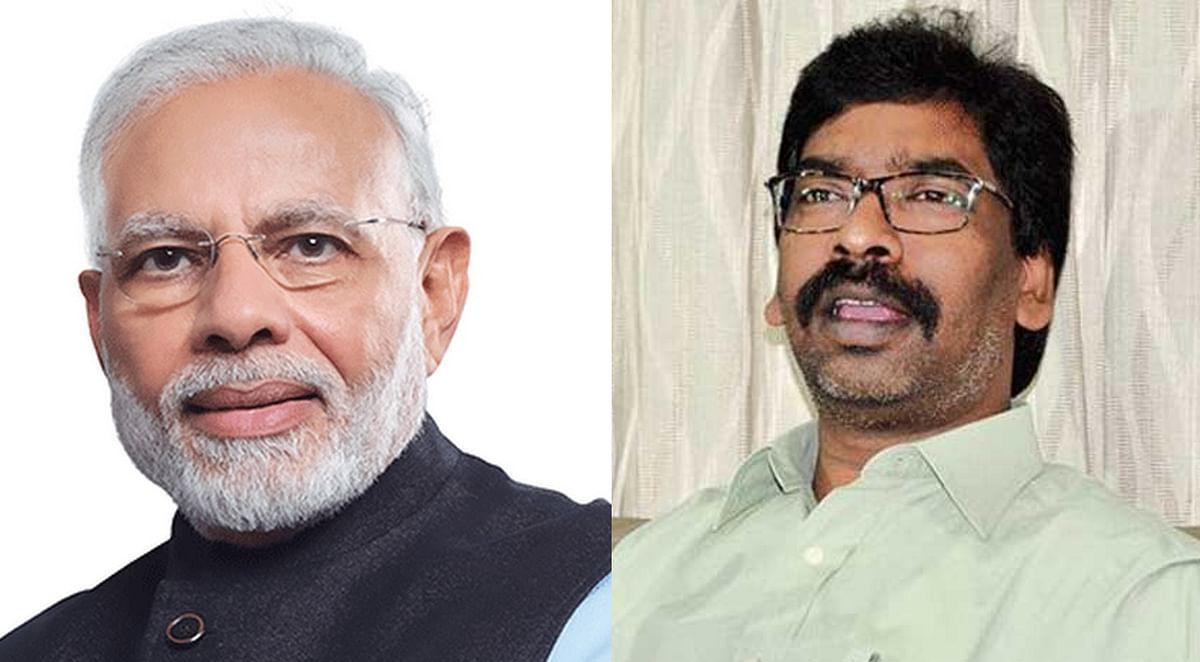 PM नरेंद्र मोदी पर CM हेमंत सोरेन के तंज के बाद झारखंड की सियासत गरमायी, बीजेपी नेता भड़के, आरोप-प्रत्यारोप का दौर शुरू