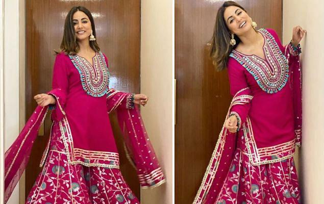 हिना खान ने शेयर की ट्रेडिशनल लुक में तसवीरें, मुस्कान देख फैंस ने किए ऐसे कमेंट्स