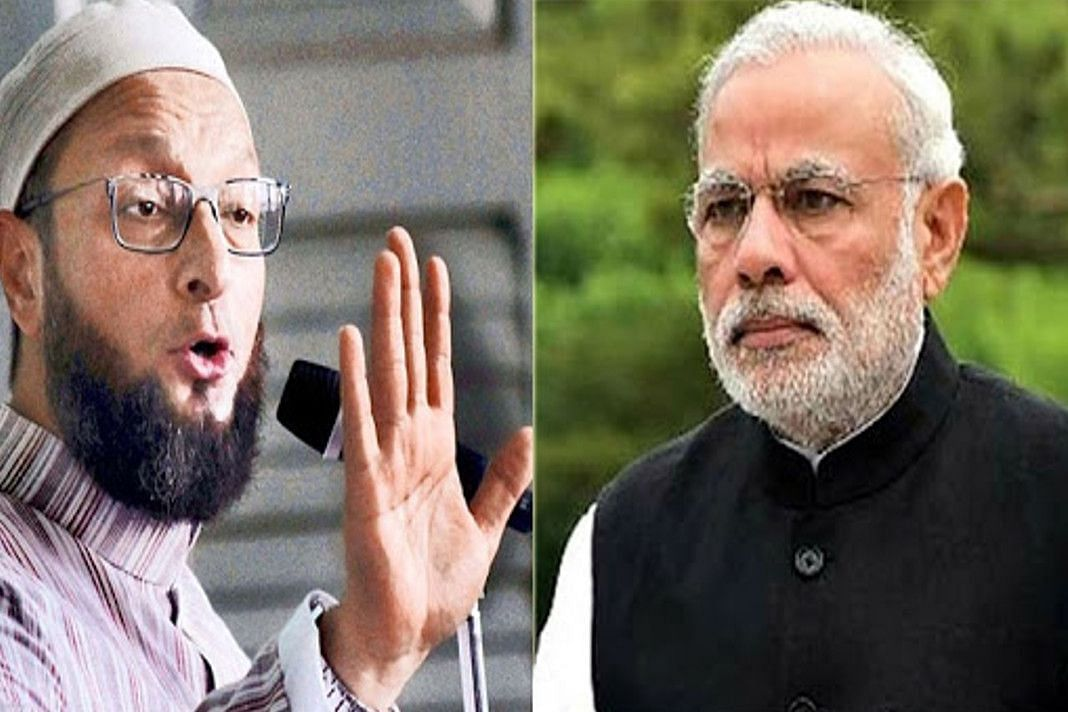 Bihar Election 2020: बिहार में औवेसी ने PM मोदी पर साधा निशाना, 56 इंच को लेकर कही ये बात