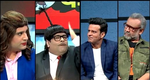 The Kapil Sharma Show : कपिल शर्मा शो में अर्नब गोस्वामी की नकल, जब चिल्लाने लगे बच्चा यादव- मुझे जग दो, जग दो... VIDEO