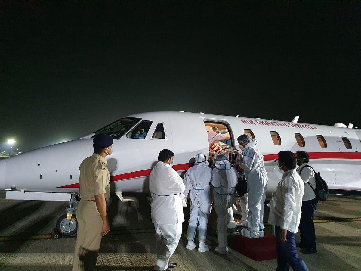 झारखंड के शिक्षा मंत्री जगरनाथ महतो को एयर एंबुलेंस से चेन्नई भेजा गया, अब MGM में होगा इलाज