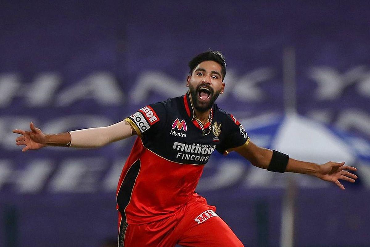 IPL 2020 : कोहली ने ऐसा क्या कह दिया कि केकेआर पर कहर बनकर टूटे मोहम्मद सिराज