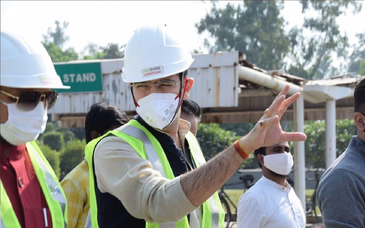 यमुना में अमोनिया का स्तर बढ़ा , सप्लाई सुरक्षित करने में जुटा   दिल्ली जल बोर्ड : राघव चड्ढ़ा