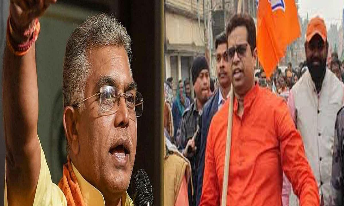 बंगाल चुनाव से पहले बीजेपी की प्रदेश इकाई में गुटबाजी, दिलीप ने युवा मोर्चा की नयी कमेटी को किया रद्द, तो भाजयुमो अध्यक्ष ने मानने से किया इनकार