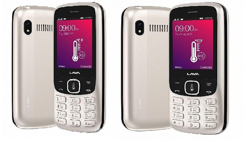 Lava ने लॉन्च किया ऐसा फोन, बिना टच किये नाप सकते हैं बुखार, कीमत 2000 से भी कम