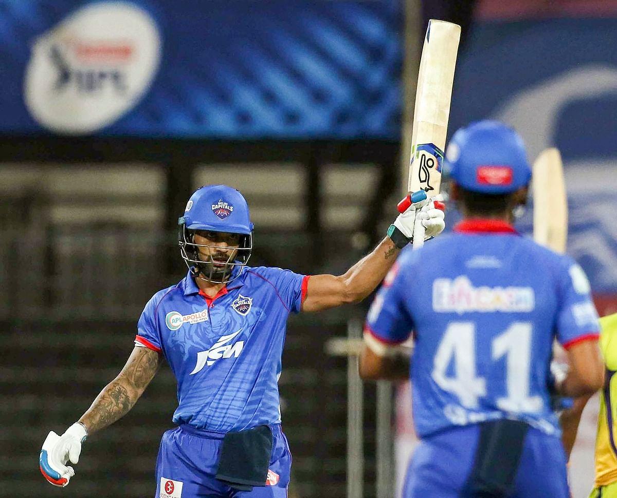 IPL 2020, DC vs KXIP, Live Score : धवन का एक और धमाका, 28 गेंदों में जड़ दिया अर्धशतक, DC 96/2