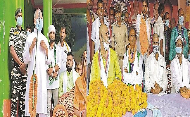 Bihar Chunav 2020: NDA के लिए ललन, आरसीपी, रघुवर, तो जदयू से बागी होकर लोजपा में आए प्रत्याशी के लिए सूरजभान और प्रिंस राज मैदान में