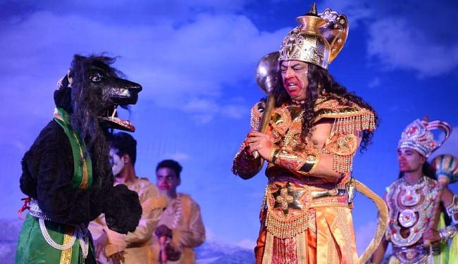 Ayodhya Ramleela : शक्ति बाण से मूर्छित हुए लक्ष्मण, शोक में डूबे राम
