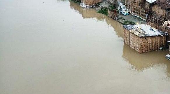 चिंताजनक शहरी बाढ़