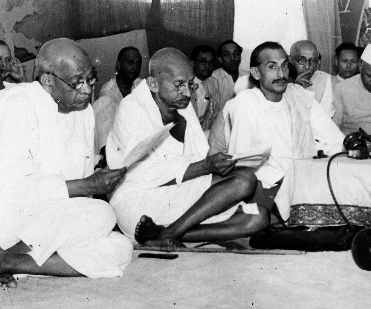 महात्मा गांधी और वल्लभाई पटेल