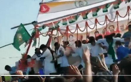 Bihar Election News: इमरान प्रतापगढ़ी गा रहे थे 'एक वादे को निभाने को...' तभी मंच भरभरा कर गिर गया, देखें Video