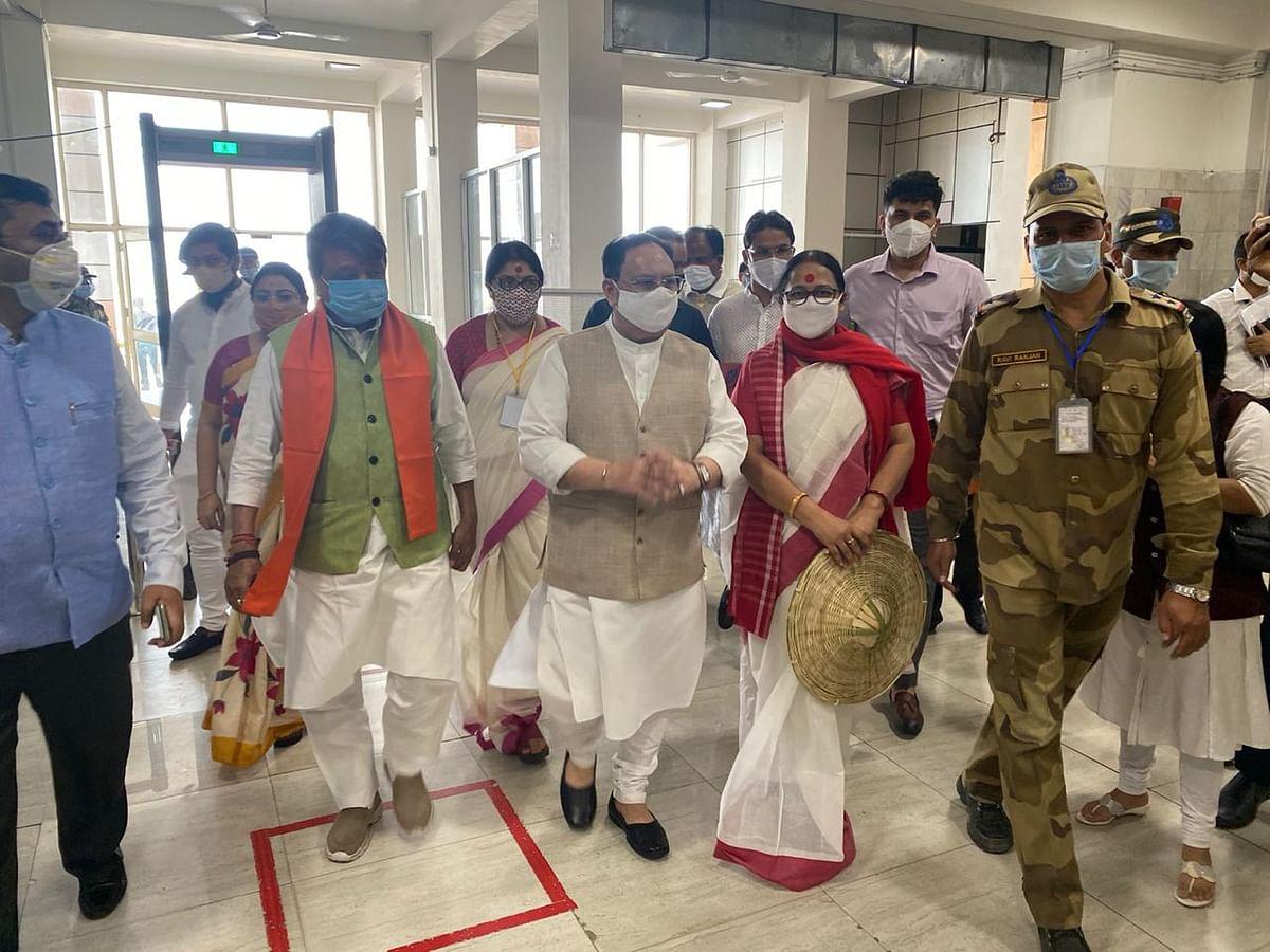 उत्तर बंगाल के दौरे पर भाजपा अध्यक्ष जेपी नड्डा, बनायेंगे चुनावी रणनीति