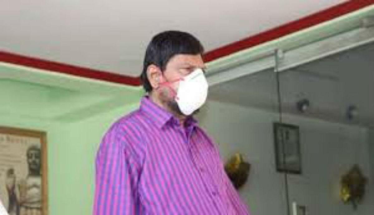 Go Corona Go का नारा देने वाले केंद्रीय मंत्री कोविड-19 से संक्रमित, बॉम्बे अस्पताल में कराया गया भर्ती