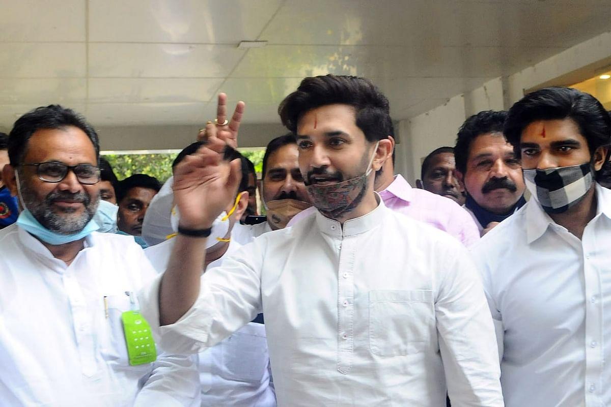 Bihar Election 2020 : पहले चरण में BJP के खिलाफ एक भी LJP प्रत्याशी नहीं, JDU की 35, HAM की 6, VIP की एक सीट पर दिया चैलेंज