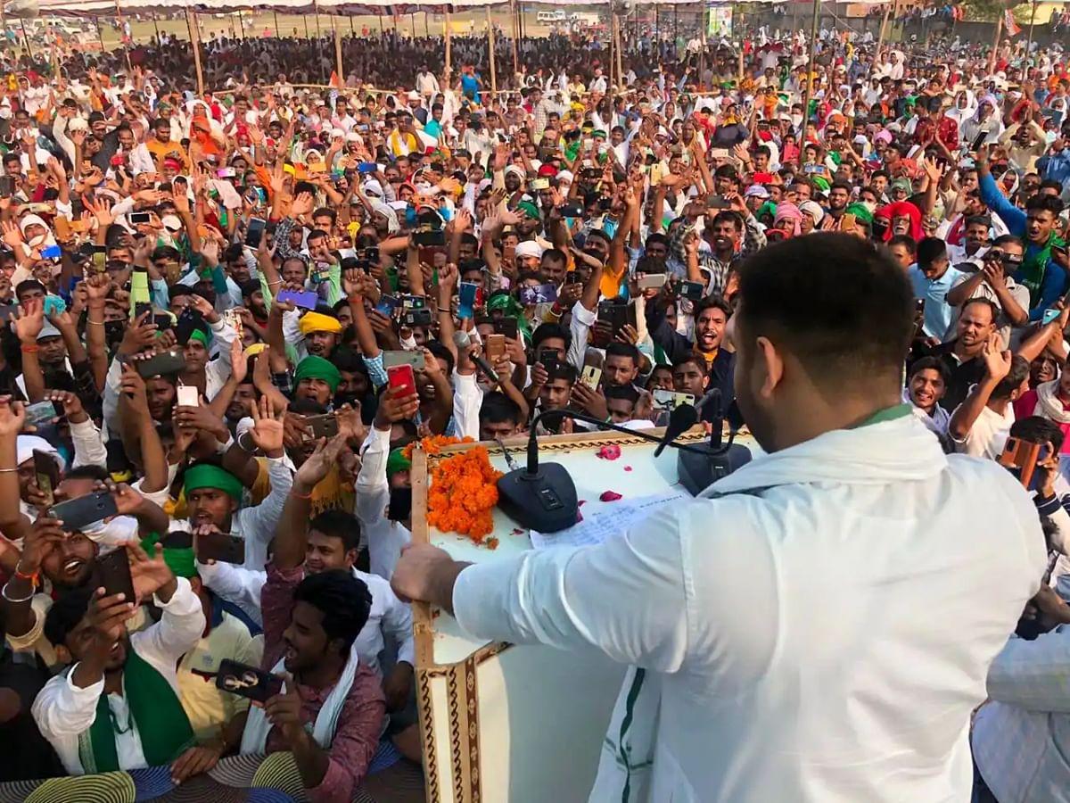 बिहार चुनाव: कोरोना के बावजूद रैलियों में उमड़ रही भारी भीड़, चुनाव आयोग ने राजनीतिक दलों को दिया ये निर्देश