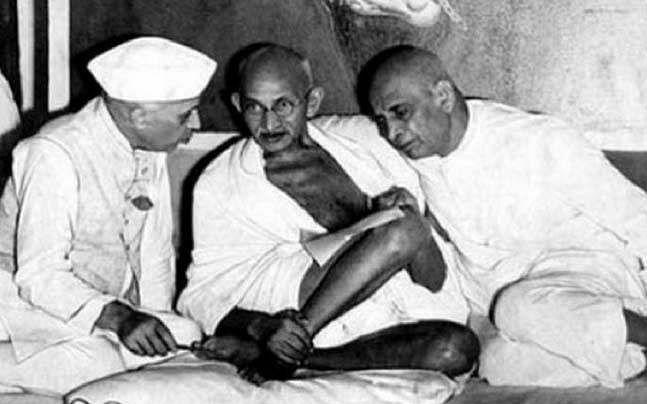 पटेल-गांधी-नेहरू