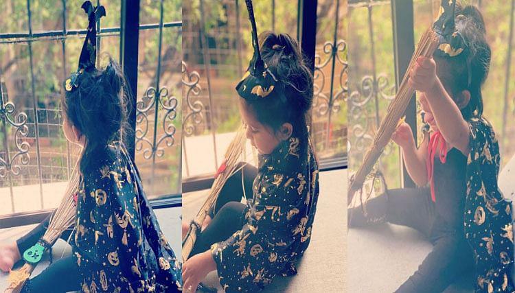 Halloween 2020: हैलोवीन पार्टी में क्यूट रूप में दिखीं नेहा धूपिया की बेटी मेहर, सोशल मीडिया पर छा गई Photos
