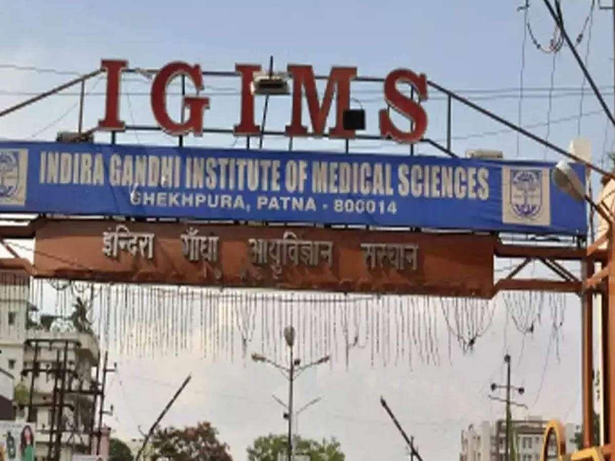 पटना के IGIMS अस्पताल में महिला डॉक्टर ने किया आत्महत्या का प्रयास, हालत गंभीर