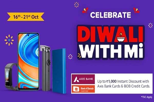 Xiaomi की Diwali With Mi सेल शुरू, स्मार्टफोन पर मिल रहा 5000 रुपये तक डिस्काउंट