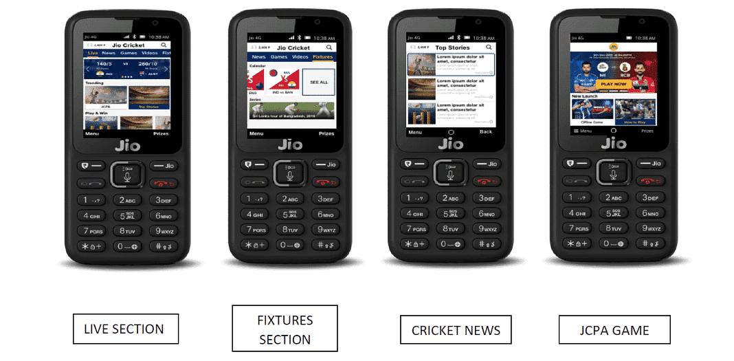 Jio Phone पर मिलेगा क्रिकेट से जुड़ा हर LIVE Update, साथ में इनाम जीतने का भी मौका