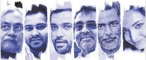 Bihar Chunav : पहला चुनाव जिसमें इतने सीएम पद के उम्मीदवार, दोनों बड़े राष्ट्रीय दल के पास कोई CM चेहरा नहीं