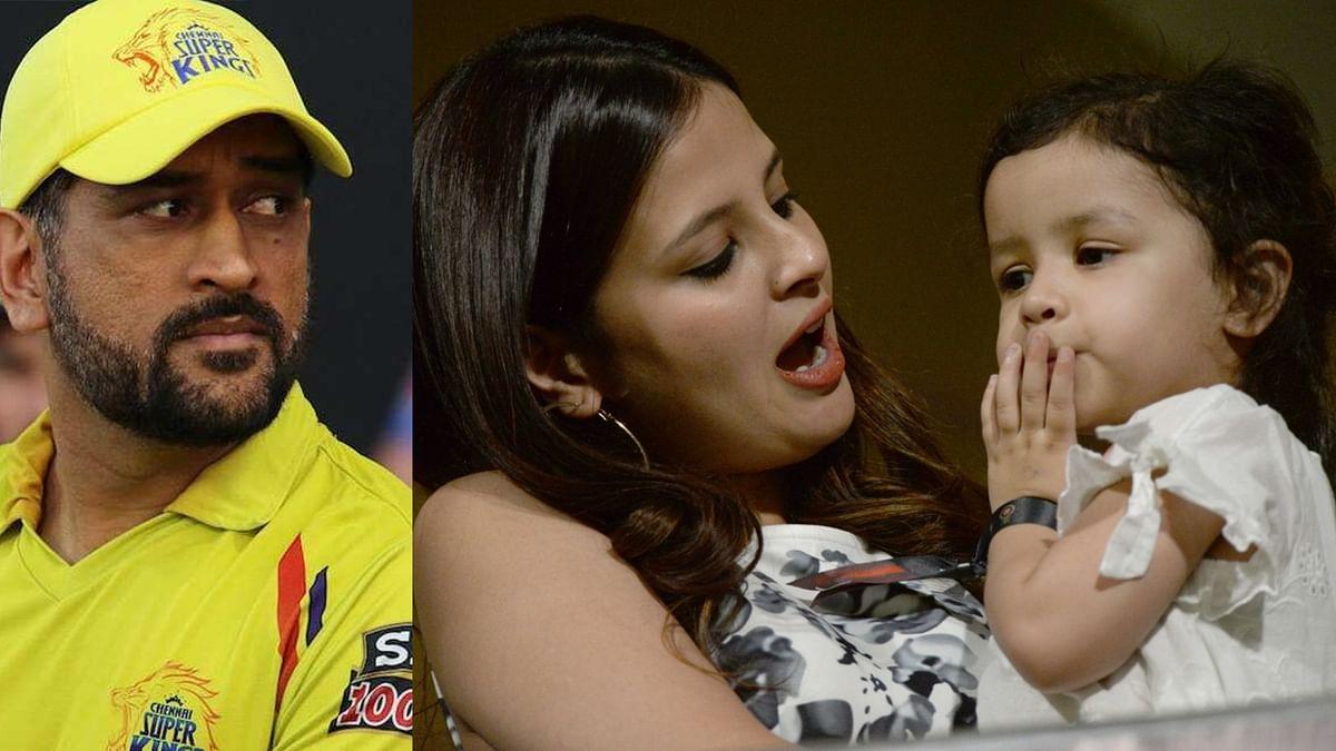 जब धौनी की टीम को छोड़ मुंबई इंडियंस के लिए चीयर करने लगी बेटी जीवा, हिटमैन ने वीडियो शेयर कर साक्षी धौनी से कही थी ये मजेदार बात