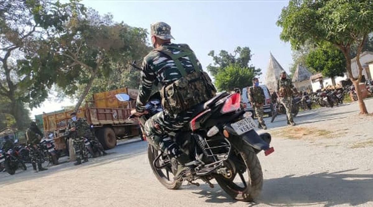 10 लाख के इनामी नक्सली रवींद्र गंझू की तलाश में जुटी गुमला और लोहरदगा की पुलिस
