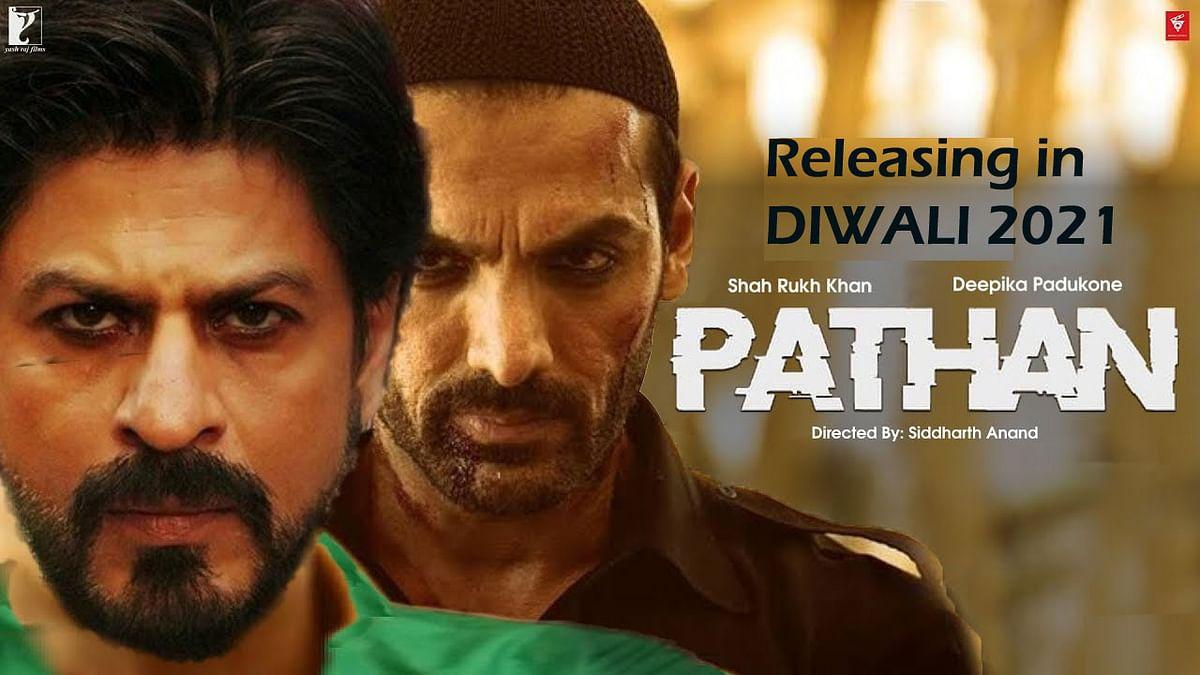 शाहरुख, जॉन और दीपिका स्टारर Pathan की रिलीज डेट हुई अनाउंस, दीवाली 2021 पर की जाएगी रिलीज