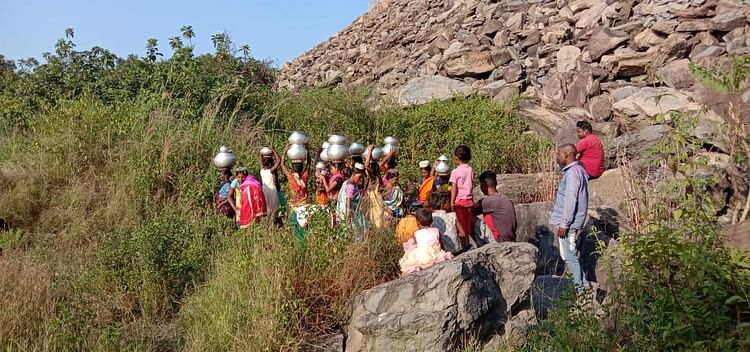 Governments kept coming and going, but till today they did not even get drinking water in their village.