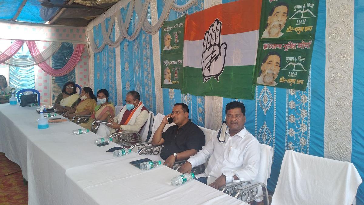 Jharkhand assembly by-election : बेरमो में स्वास्थ्य मंत्री बन्ना गुप्ता बोले, कांग्रेस को जनता का आशीर्वाद