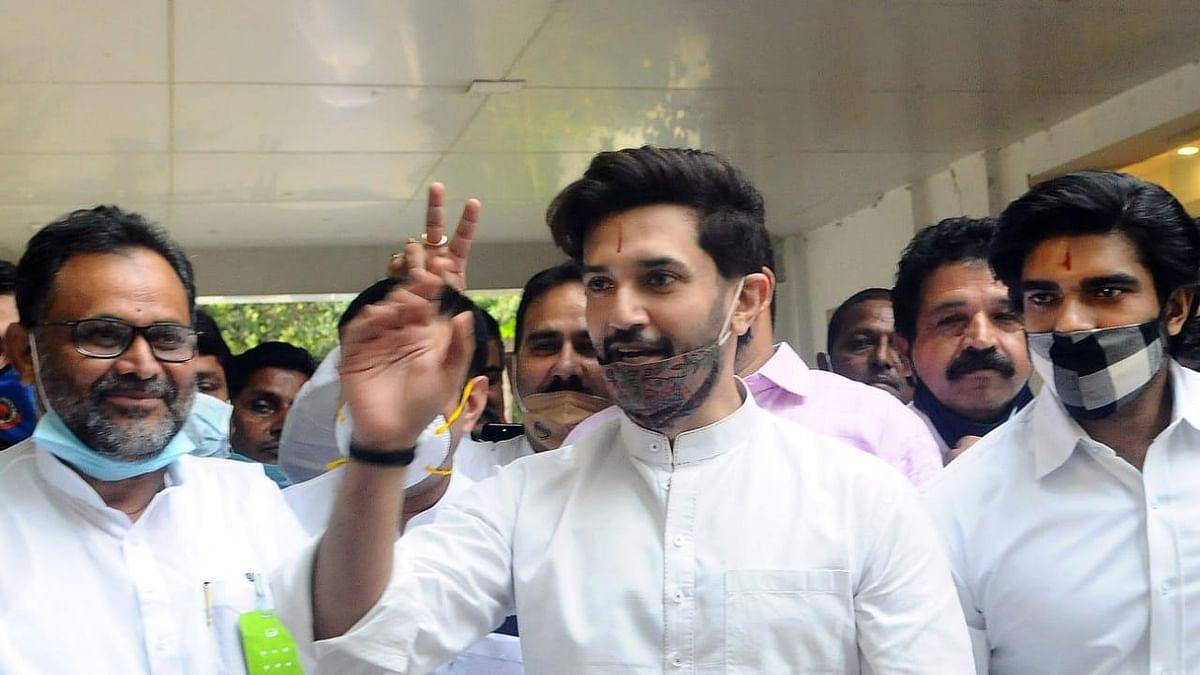 बिहार विधानसभा की दो सीटों पर अकेले उपचुनाव लोजपा लड़ेगी, चिराग बोले- जल्द होगा उम्मीदवारों का एलान